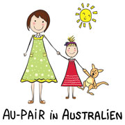 Au-pair in Australien Logo